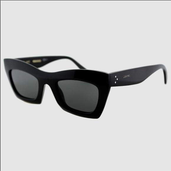 2f1c99056b0 Celine Accessories - Celine Eva modified cat eye sunglasses (black)